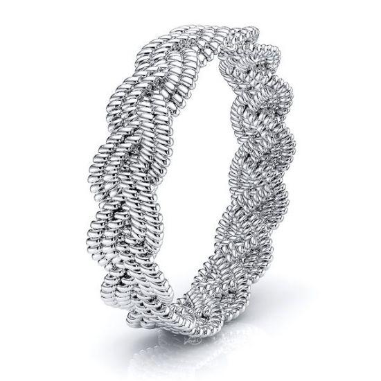 Thomas Women Hand Braided Wedding Ring
