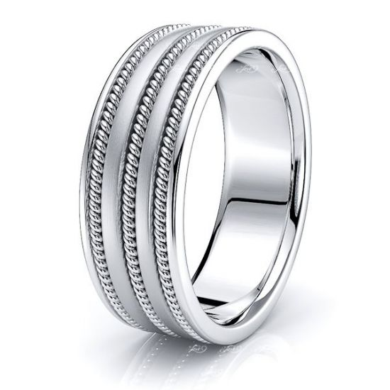 Ian Mens Hand Braided Wedding Ring