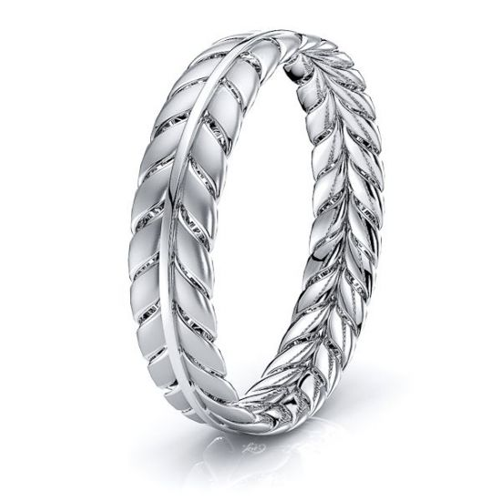 Declan Hand Woven Women Wedding Ring