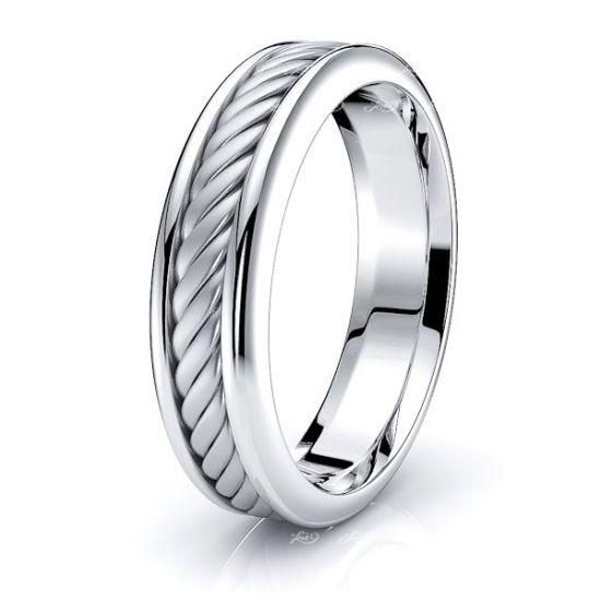 Xander Women Hand Braided Wedding Ring