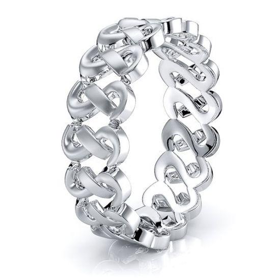 Silas Hand Woven Mens Wedding Ring
