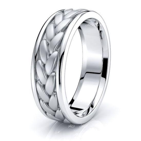 Dashiell Hand Woven Women Wedding Ring