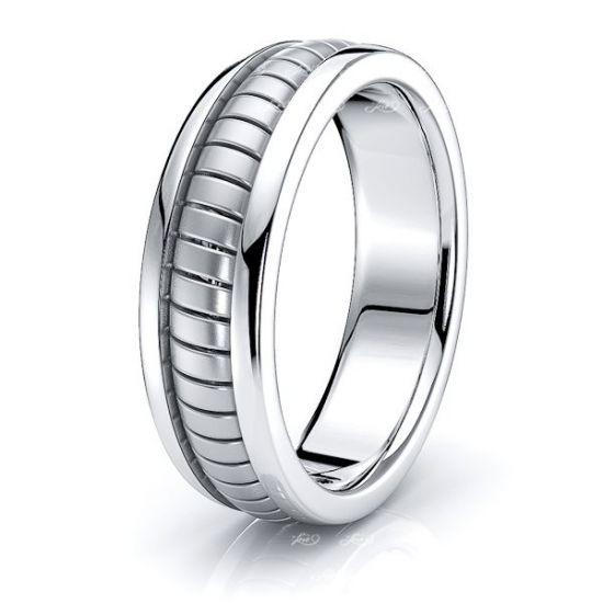 Elias Hand Woven Mens Wedding Ring