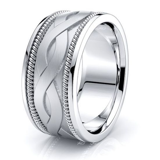 Cyrus Mens Hand Braided Wedding Ring
