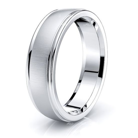Emerson Solid 6mm Mens Wedding Ring
