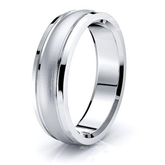 Rosemary Solid 7mm Mens Wedding Ring
