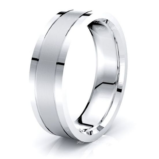 Eamon Solid 6mm Mens Wedding Band