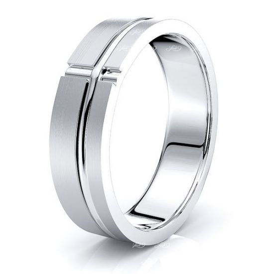 Ciaran Solid 6mm Mens Wedding Ring