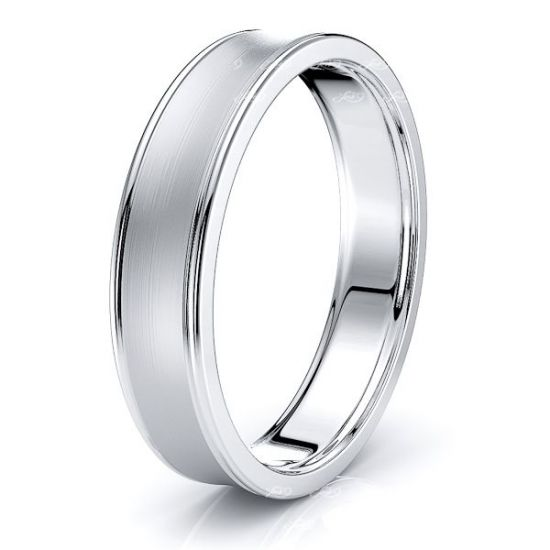 Harriet Solid 5mm Mens Wedding Band