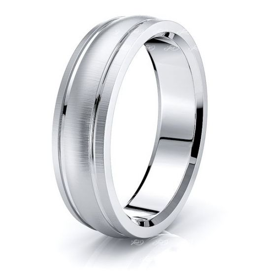 Faye Solid 7mm Mens Wedding Ring