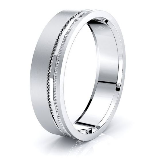 Susannah Solid 6mm Mens Wedding Band