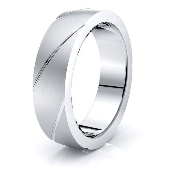 Raphael Solid 6mm Mens Wedding Ring