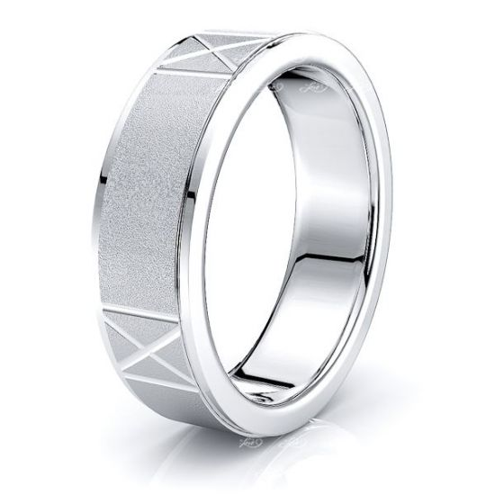 Wilder Solid 7mm Mens Wedding Band