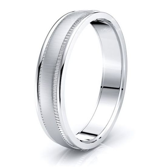 Ailsa Solid 5mm Mens Wedding Ring