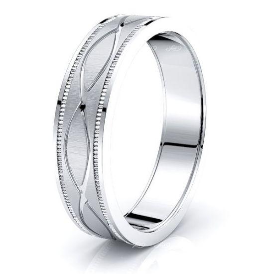 Seth Solid 6mm Mens Wedding Ring