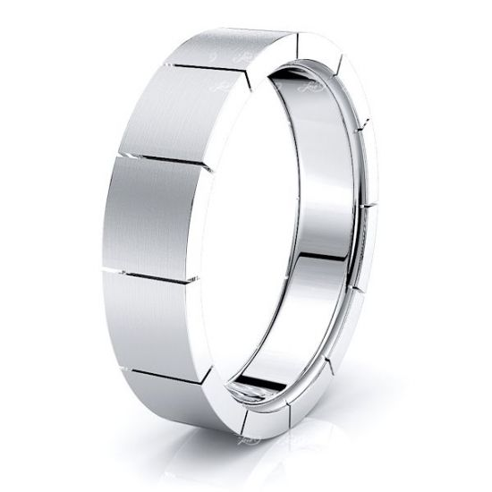 Philippa Solid 6mm Mens Wedding Ring