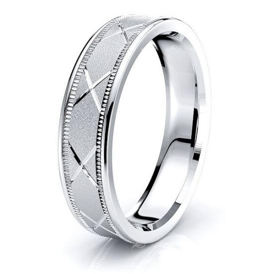 Libby Solid 6mm Mens Wedding Ring