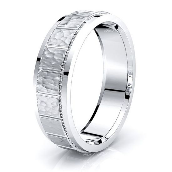 Keira Solid 6mm Mens Wedding Band