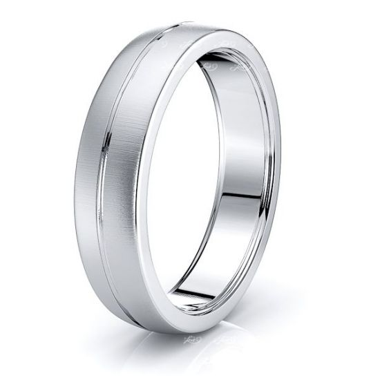 Maude Solid 6mm Mens Wedding Ring