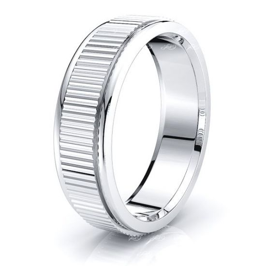 Zayden Solid 6mm Mens Wedding Ring