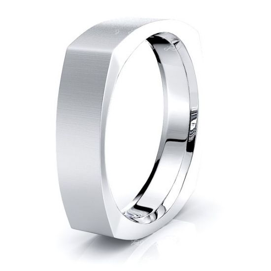 Marie Solid 4mm Mens Wedding Ring