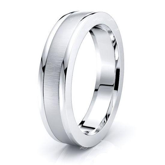 Tatiana Solid 5mm Mens Wedding Ring