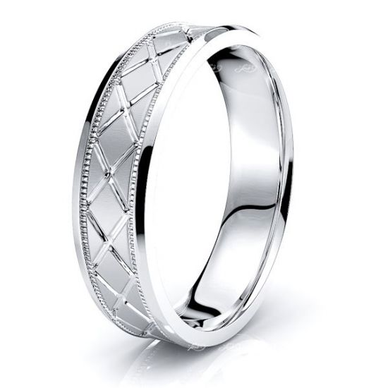 Finnian Solid 6mm Mens Wedding Ring