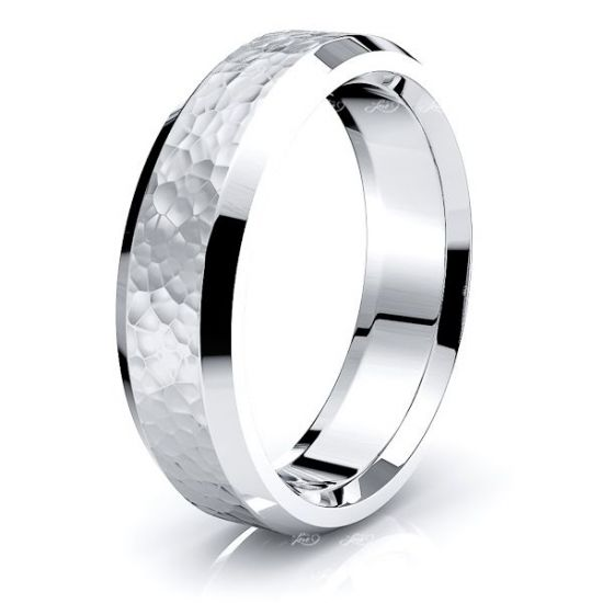 Gwen Solid 6mm Mens Wedding Ring
