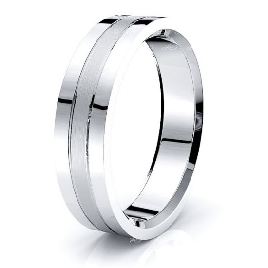 Cassian Solid 6mm Mens Wedding Band