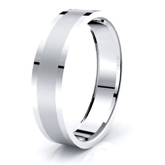 Jolie Solid 6mm Mens Wedding Ring