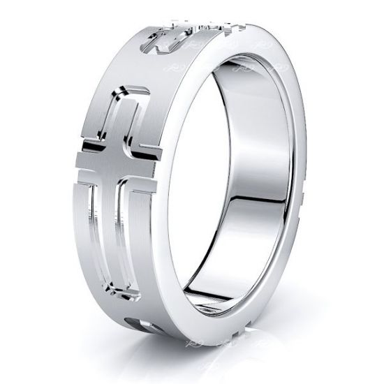 Linus Solid 6mm Mens Wedding Band