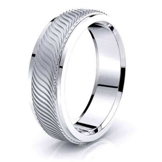 Briony Solid 7mm Mens Wedding Ring