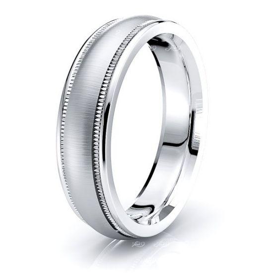 Juliette Solid 6mm Mens Wedding Ring