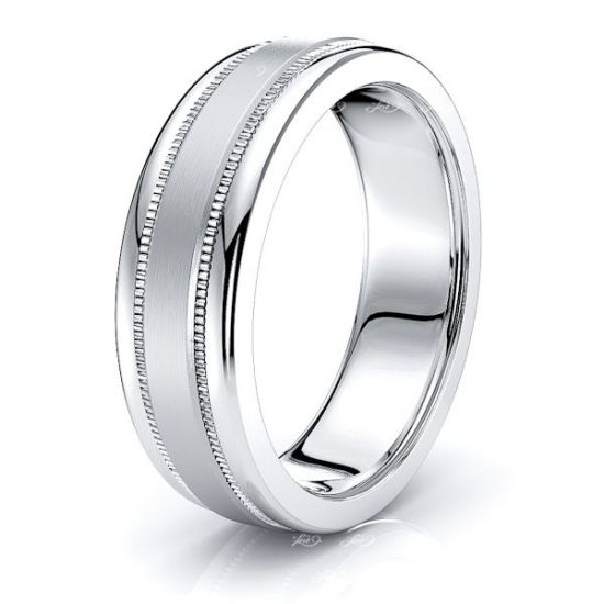 Emrys Solid 7mm Mens Wedding Ring
