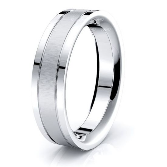 Tate Solid 6mm Mens Wedding Band