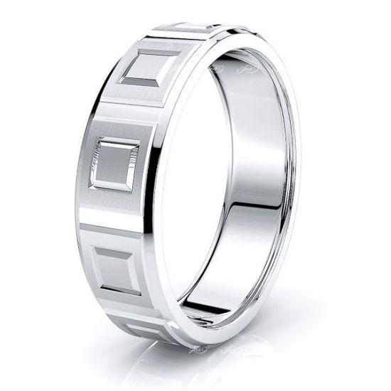 Gus Solid 7mm Mens Wedding Ring