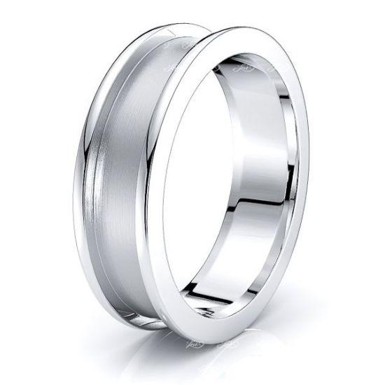 Garrett Solid 6mm Mens Wedding Ring