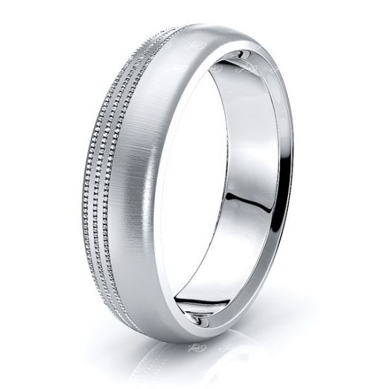 Faith Solid 6mm Mens Wedding Ring