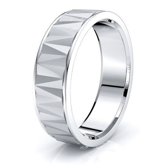 Ramona Solid 7mm Mens Wedding Ring