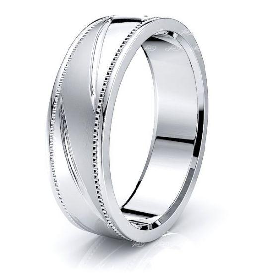 Davis Solid 7mm Mens Wedding Ring