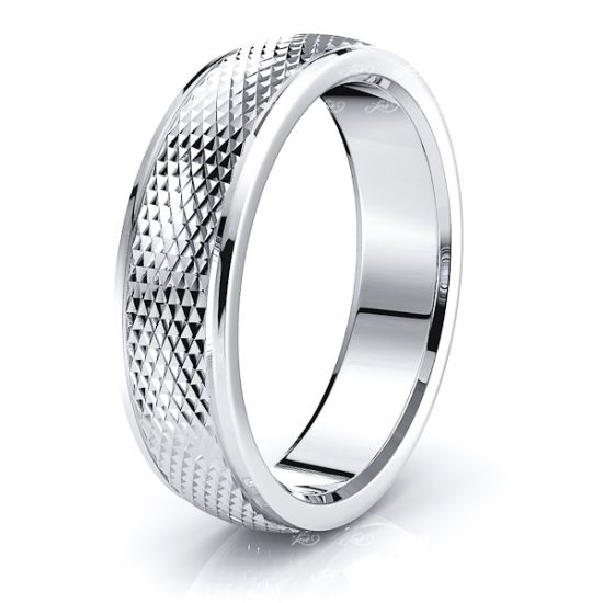 Anderson Solid 6mm Mens Wedding Ring