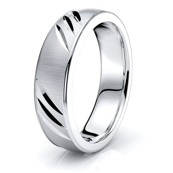 Titus Solid 6mm Mens Wedding Band