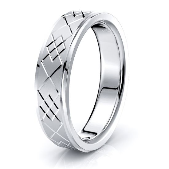 Holly Solid 6mm Mens Wedding Ring