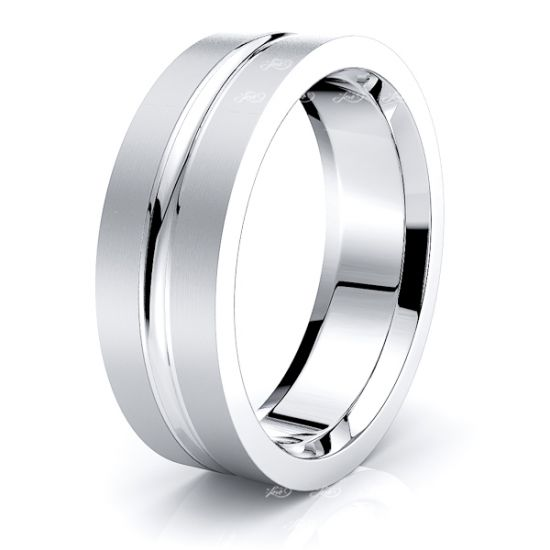 Kellen Solid 8mm Mens Wedding Ring