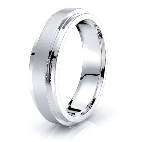 Reese Solid 6mm Mens Wedding Band