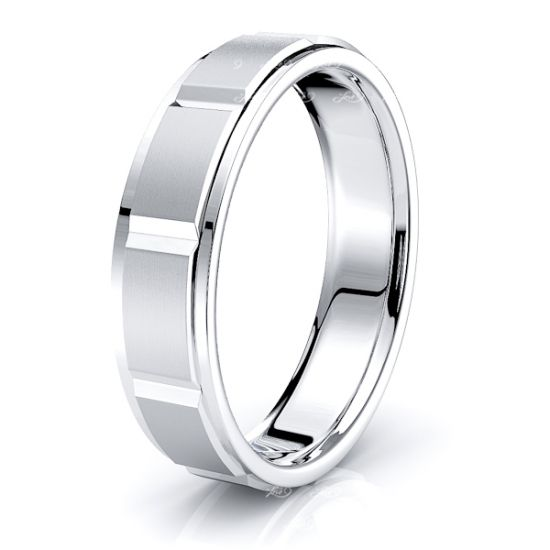 Maria Solid 6mm Mens Wedding Ring