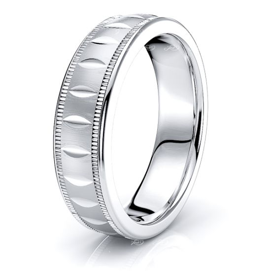 Severus Solid 6mm Mens Wedding Ring