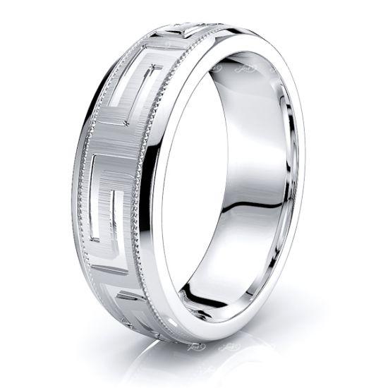 Linnea Solid 7mm Mens Wedding Band