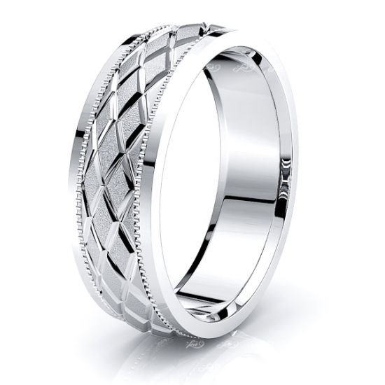 Theodora Solid 7mm Mens Wedding Ring