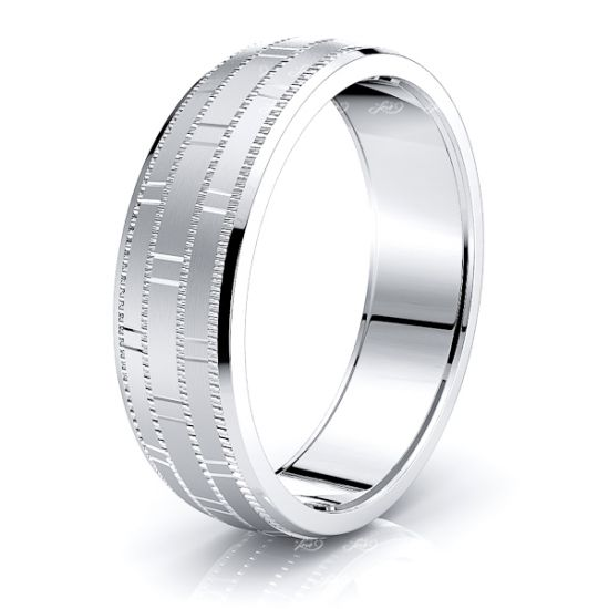 Alastair Solid 7mm Mens Wedding Band